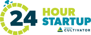 24 Hour Startup powered by Cultivator logo