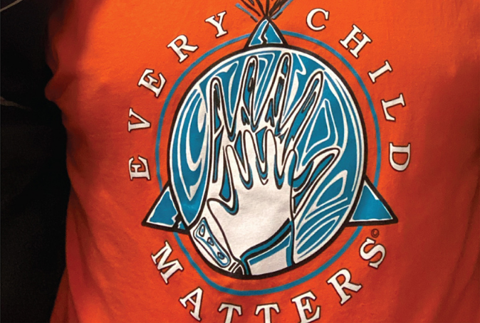 Every Child Matters Orange Shirt